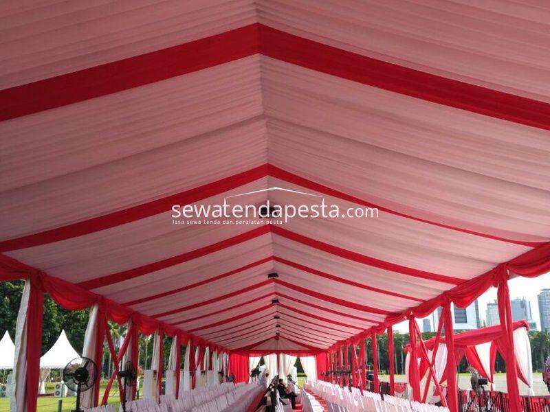 tenda roder merah putih